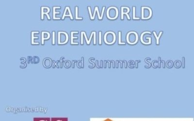 Registration for the 3rd Oxford Summer School on Real World Epidemiology is now open