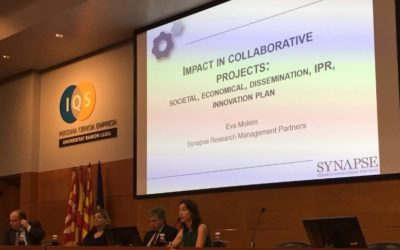 Eva Molero gives talk on collaborative research projects at the Ramon Llull University