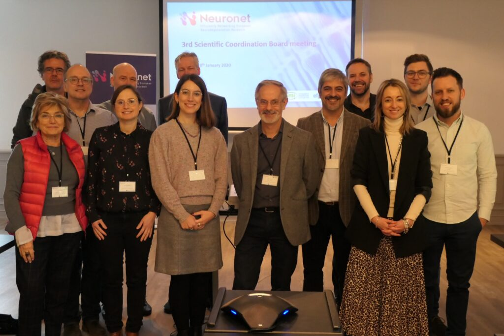Neuronet Scientific Coordination Board Meeting Madrid January 2020